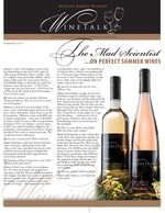"Middle Ridge Winery Newsletter ""WineTalk"" Spring, 2015"