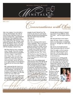 "Middle Ridge Winery Newsletter ""WineTalk"" Fall, 2011"