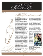 "Middle Ridge Winery Newsletter ""WineTalk"" Spring, 2010"