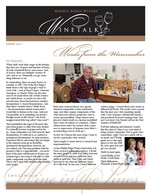 "Middle Ridge Winery Newsletter ""WineTalk"" Spring, 2011"