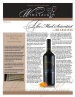 "Middle Ridge Winery Newsletter ""WineTalk"" Spring, 2013"