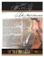 "Middle Ridge Winery Newsletter ""WineTalk"" Spring, 2014"