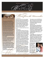 "Middle Ridge Winery Newsletter ""WineTalk"" Summer, 2010"