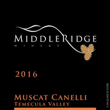 2016 Muscat Canelli Image