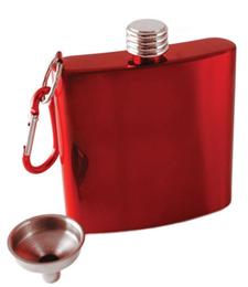 Wine Flask - Red Carabiner