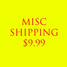 Misc. Shipping (CA NO TAX)